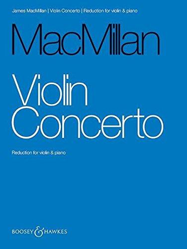 Violin Concerto: Reduction for Violin & Piano by Boosey & Hawkes