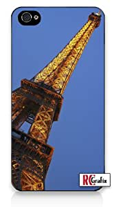 The Amazing Paris Eiffel Tower Iphone 5 Quality TPU SOFT RUBBER Snap On Case for Iphone 5 - AT&T Sprint Verizon - White Case