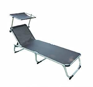 HOMCOM - Tumbona reclinable