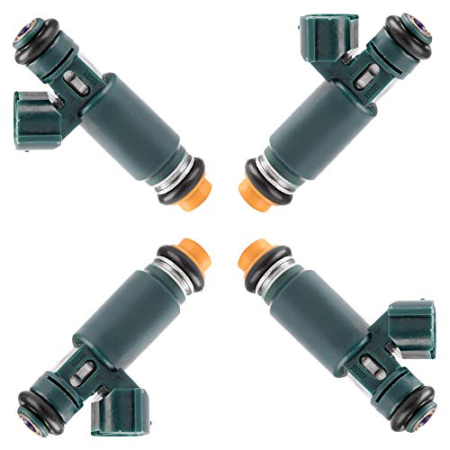 Nissan Altima Fuel Economy - OCPTY Fuel Injector, 4pcs 12 Holes Replacement Fuel Injectors Engine Part fit for 2002 2003 2004 2005 2006 Nissan Altima 2.5L,2002 2003 2004 2005 2006 Nissan Sentra 2.5L,195500-4390