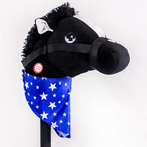 (PonyLand Black Stick Horse with Sound Toy)