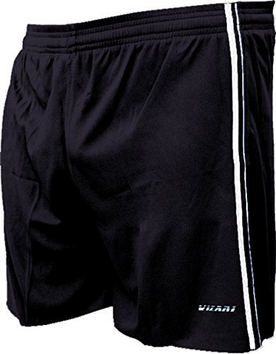 Vizari Campo Soccer Shorts, Black, Adult Medium Adult Soccer Shorts