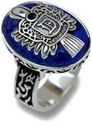 Tenworld Men Women Gift Fashion Vintage Vampire Diaries Salvatore Damon Stefan finger Family Crest RING