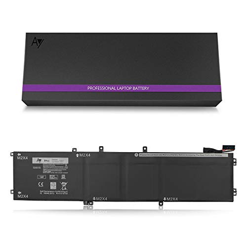 AY 4GVGH Battery [11.4V / 84WH]. AY High-Performance Replacement Laptop Battery Compatible Dell Precision 5510, Dell XPS 15 9550 Series, Fits 4GVGH 1P6KD ()