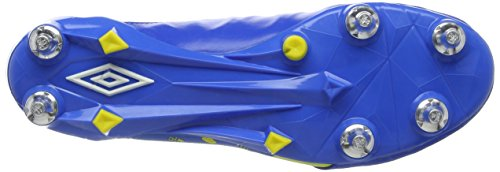 Umbro Medusæ II Elite SG, Scarpe da Calcio Uomo Blu (Electric Blue / White / Blazing Yellow)