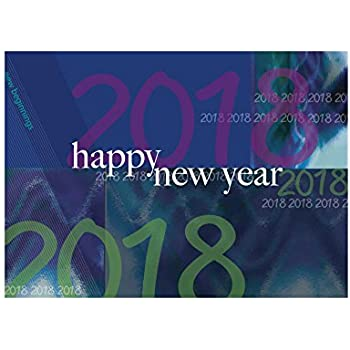 new year greeting card n9002 wish health and happiness throughout 2018 to