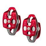 NewDoar 32 KN CE Certified Large Rescue Pulley