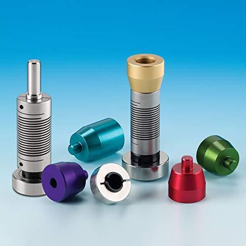 Chemglass CG-2044-09 Series CG-2044 Tru-Stir Stirrer Shaft Coupling for 3-Jaw Jacobs Chuck, 3/8