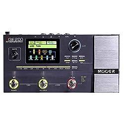 Muslady MOOER GE200 Amp Modelling & Multi Effects Pedal 55 Amplifier Models 26 Speaker Cab Models 70 Effects 52s Looper 40 Drum Patterns 10 Metronome Rhythms