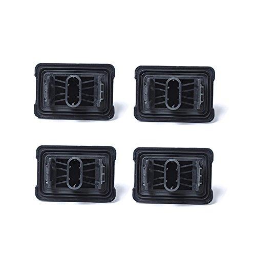 ETBOTU 51717237195 - Juego de 4 clavijas para BMW (1, 3, 5, 6, 7 y 1 clavija)