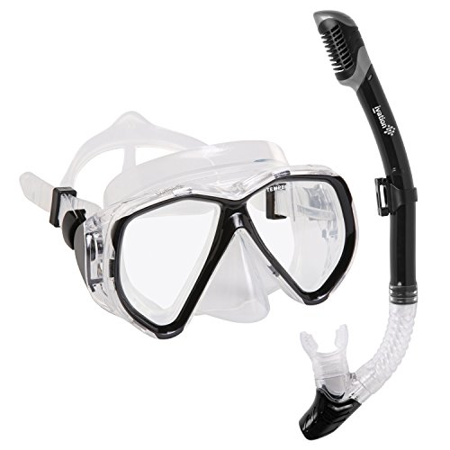 Snorkel Mask Set Snorkeling Double