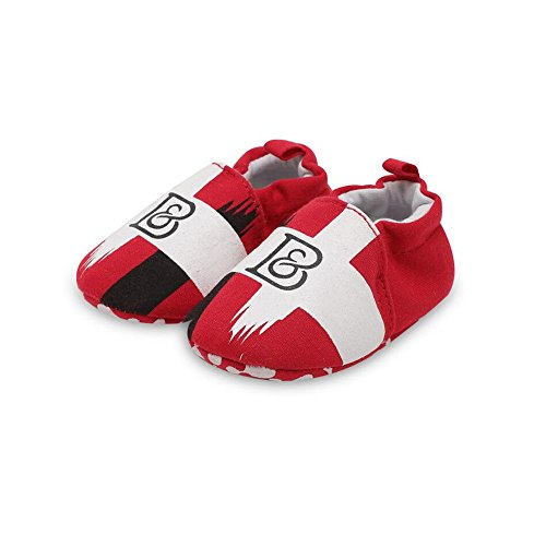 Soft Sole Baby Toddler Shoes Light And Comfortable Suitable For 0 To 2 Year Old Baby (Red, 12cm) (Arch Wrestling Red)