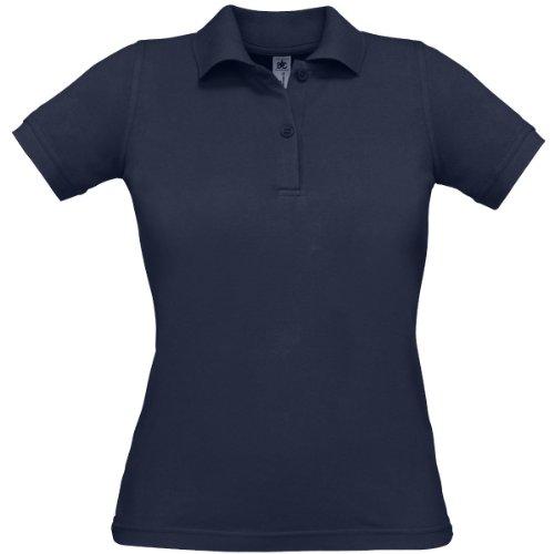 B&C Collection - Polo -  Femme -  Bleu - Bleu marine - 38