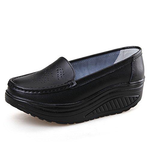 Cheap  pit4tk Women Girls Shape UPS Breathable Lightweight Shake Rocker Shoes Slip On..