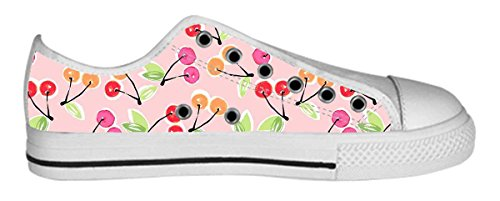 Womens Canvas Low Top Shoes Lovely Pattern Design Pattern Shoes01 26WHMMZAxP