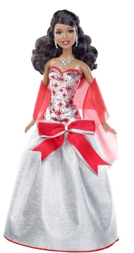 - Barbie Holiday Sparkle Barbie African-American Doll
