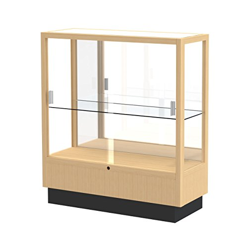Waddell Heritage Mirror Back Countertop Display Case, 36W...