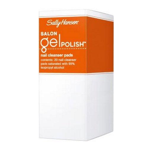 - (3 Pack) SALLY HANSEN Salon Gel Polish Nail Cleanser Pads - Gel Polish Cleanser Pads