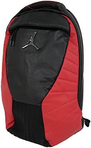 Nike(ナイキ) ナイキ ジョーダン/NIKE JORDAN ジョーダン レトロ 12 バックパック ブラック/レッド 9A1773-KR5 - [並行輸入品]