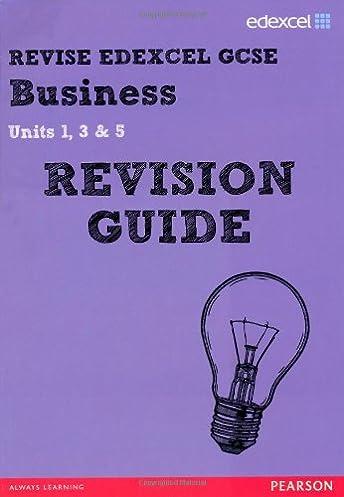 revise edexcel gcse business revision guide revise edexcel gcse rh amazon co uk Revision Icon GCSE Revision Guides
