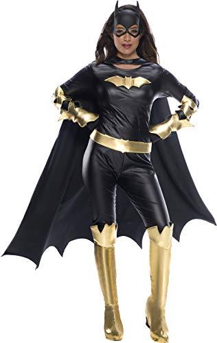 Charades DC Comics Batgirl  Adult Costume, As Shown, Medium]()