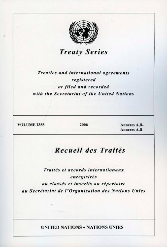 Treaty Series 2355 Annexes A, B (Multilingual - Series 2355