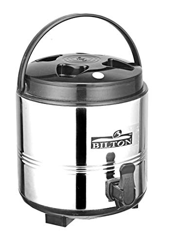 BILTON Stainless Steel Water Storage Jug  8 Liter_Silver