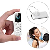 GTSTAR BM50 Mini Mobile Phones Bluetooth Dialer Supported Dual Sim Card (White)