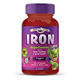 Vitamin Friends - Iron Supplement for Kids (60 Day Supply) Ferrous Fumarate with B-Complex, Vitamin C, Zinc, Biotin - Iron Gummies Support Children Healthy Body Function and Iron Levels