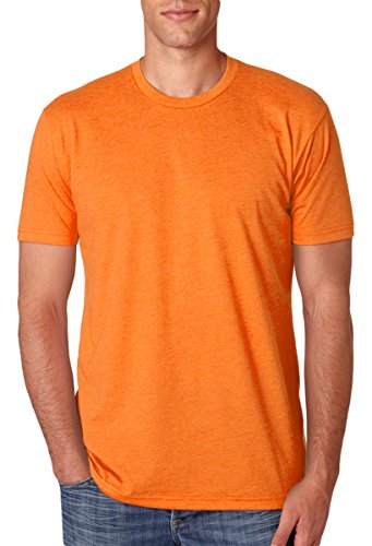 Next Level Apparel N6210 Mens Premium CVC Crew - Orange, Extra Large