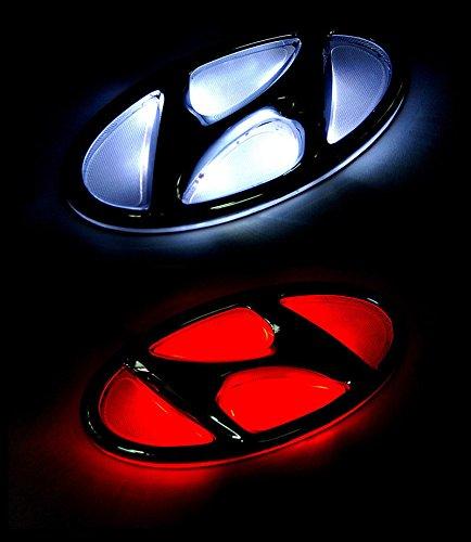 led emblem hyundai - 3