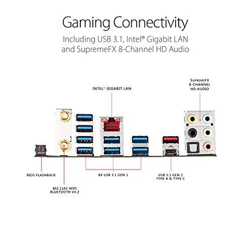 ASUS ROG STRIX X399-E GAMING AMD Ryzen Threadripper TR4 DDR4 M 2 U 2 X399  EATX HEDT Motherboard with onboard 802 11AC WiFi, USB 3 1 Gen2, and AURA