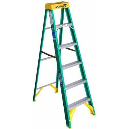 6 Trays Wholesale Paint (Werner 5906 6' Fiberglass Step Ladder)