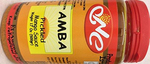 Amba Pickled Mango Sauce 17 Oz. Pk Of 3. by Amba