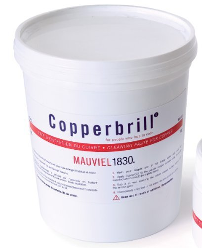 (M'plus 1 liter Copperbrill Cleaner by Mauviel)