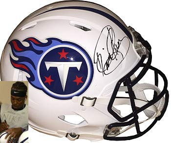 Derrick Henry Autographed Signed Tennessee Titans Full Size Speed Authentic Revolution Helmet- Steiner Hologram (Tennessee Titans Revolution)