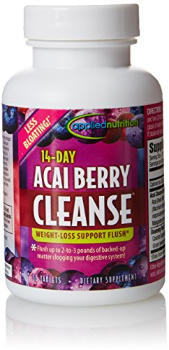 Applied Nutrition 14-Day Acai Berry Cleanse, 56 (Acai Berry Cleanse)