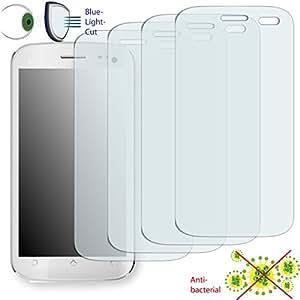 4x DISAGU ClearScreen Protector de pantalla para Micromax A110Canvas 2antibacteriano, filtro de corte Bluelight–Protector de pantalla
