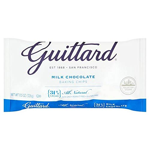 Guittard Milk Chocolate Maxi Baking Chips - 326g (0.71 lbs)