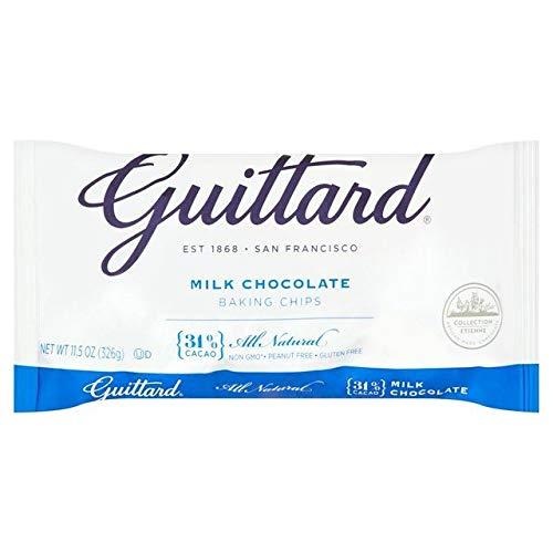 Virutas De Chocolate Para Hornear Maxi Leche Guittard: Amazon.es: Alimentación y bebidas
