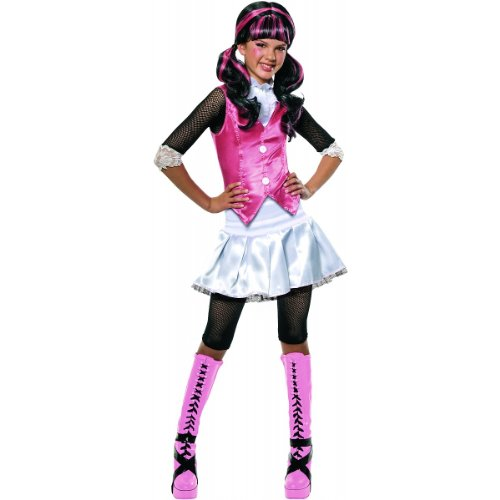 Costume D'halloween De Monster High (Monster High Draculaura Costume - One Color -)