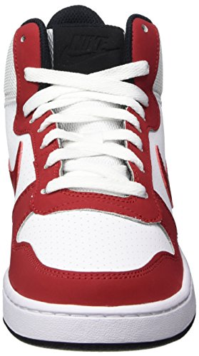 f8215711978c07 Nike Men s Court Borough MID White Gym Red-Black Sneakers-9 UK India (44  EU) (838938-101)  Buy Online at Low Prices in India - Amazon.in