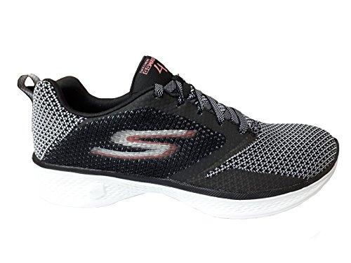 Le Signore Di Skechers Vanno A Piedi 4 Sneaker, Nero Nero