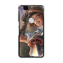 Huawei Nexus 6P/Google Nexus 6P Case, [Drop Protection] Scratch Resistant Perfect-Fit Shock Absorbing Non-Slip Game Sea Dogs Hard Armor Case Design By [Tammy Song]