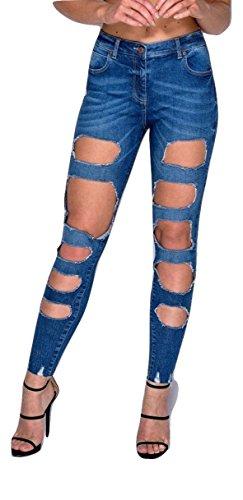 Momo Jeans Fashions Donna amp;ayat Indego qqZTr18P