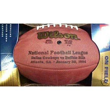 (Super Bowl 28 XXVIII Wilson Official NFL Game Football)