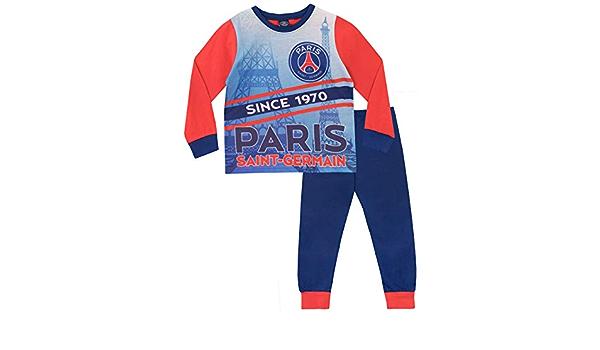 Paris Saint-Germain FC Pijamas de Manga Larga para niños Football Club