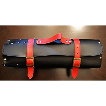 Leather Knife Roll | Chef Knife Carrier | Knife Bag | Chef Bag | Tool Roll