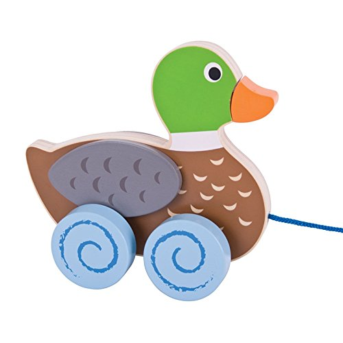 - Bigjigs Toys Wooden Duck Pull Along Toy