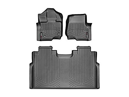 Ford F  Weathertech Floor Liners Full Set St Row